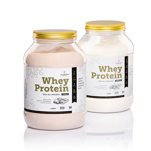 Golden Tree Nutrition Whey proteini 100% Natural