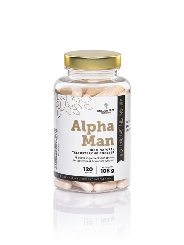 Alpha Man 100 % Natural Testosterone Booster