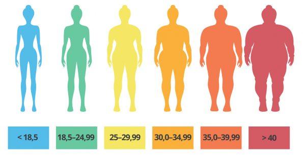 Kako se izračuna indeks telesne mase