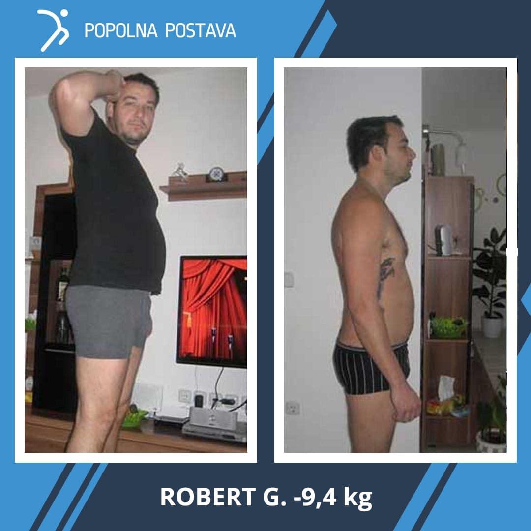 ★ Saj ni res, pa je: -9,4 kg v 5 tednih… ★