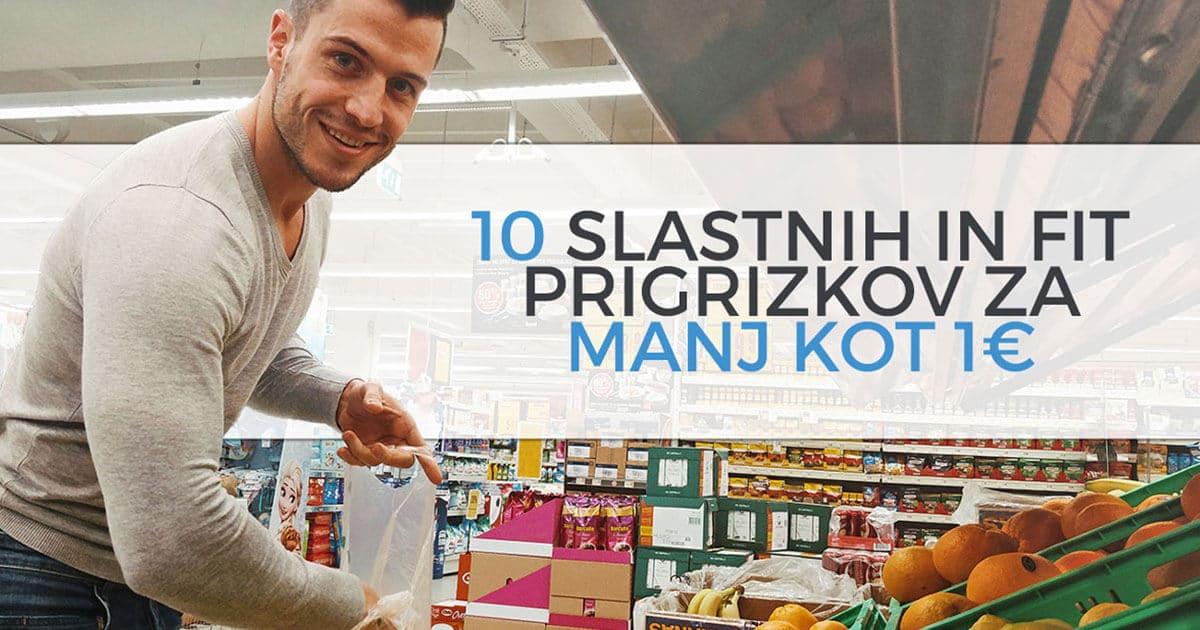 10 slastnih in fit prigrizkov za manj kot 1€
