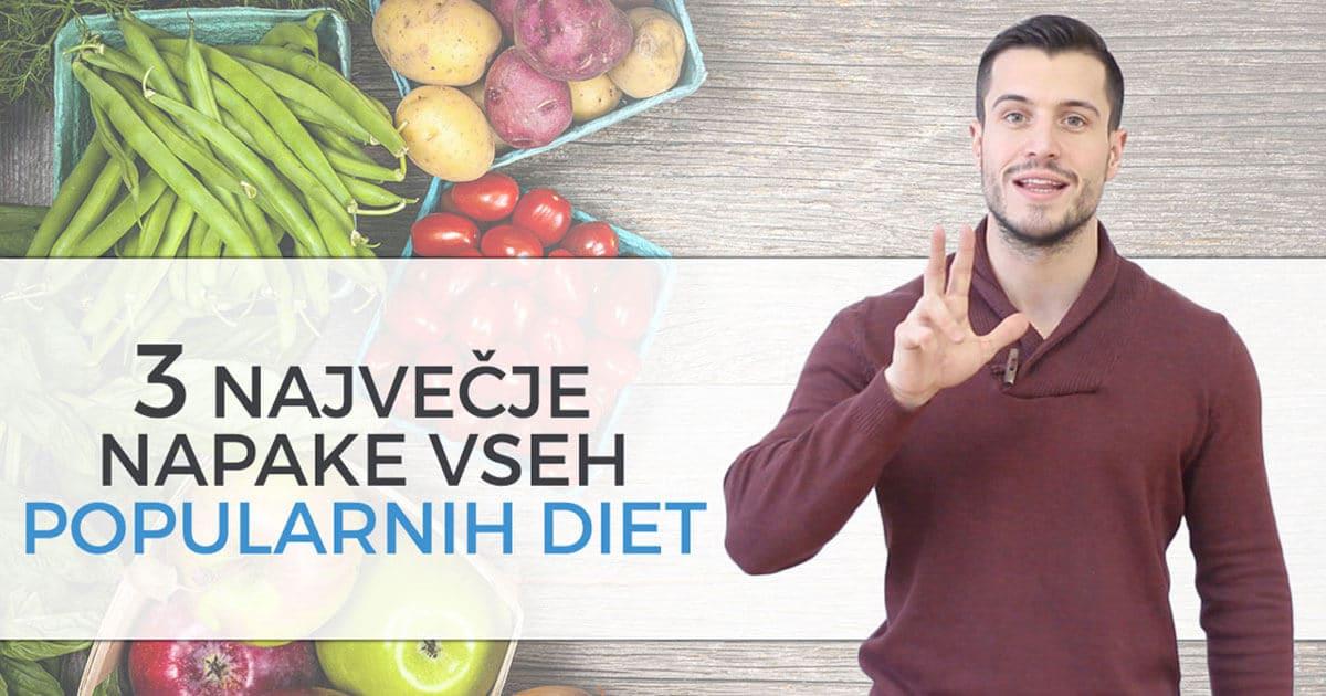 3 največje napake vseh popularnih diet, ki vas lahko stanejo vašega zdravja