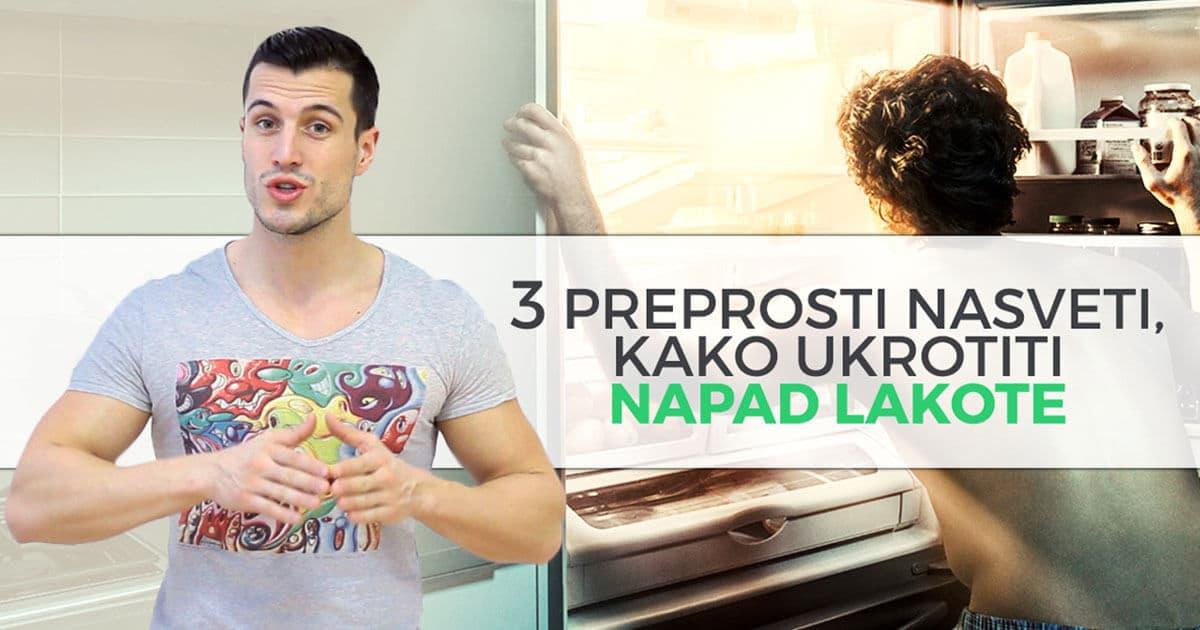 3 preprosti nasveti, kako ukrotiti napad lakote
