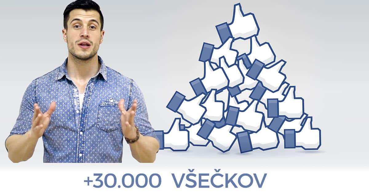 Hvala za več kot 30.000 všečkov na Facebooku!