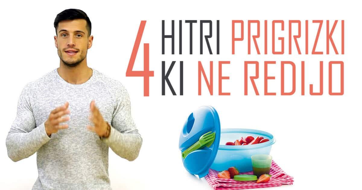 4. hitri prigrizki za fit postavo, ki ne redijo