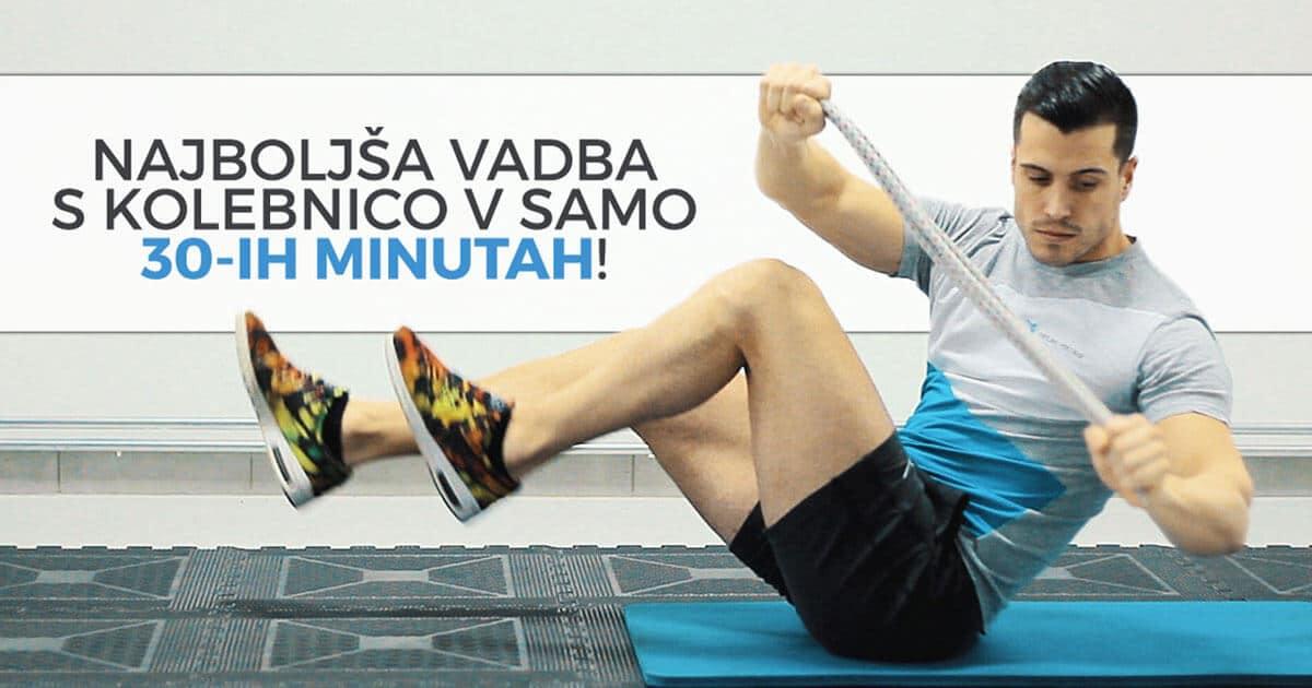 Najboljša vadba s kolebnico v samo 30-ih minutah!