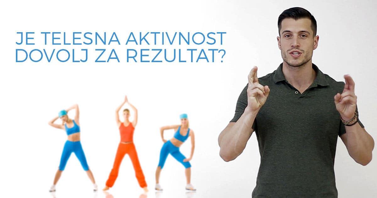 Kruta resnica: Telesna aktivnost preprosto ni dovolj za telesno preobrazbo