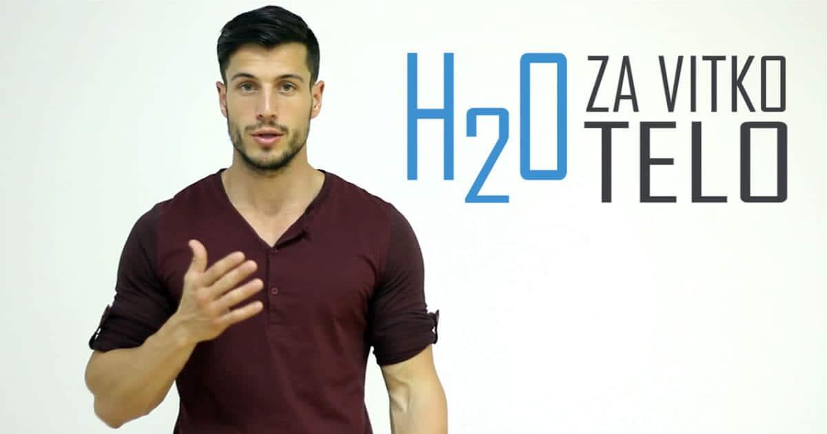 H2O za vitko telo!