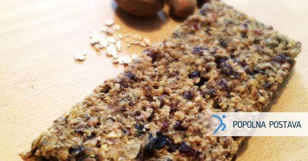 Granola iz beljakovinskih žit in semen