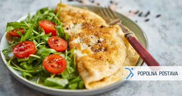 Hitra jajčna omleta