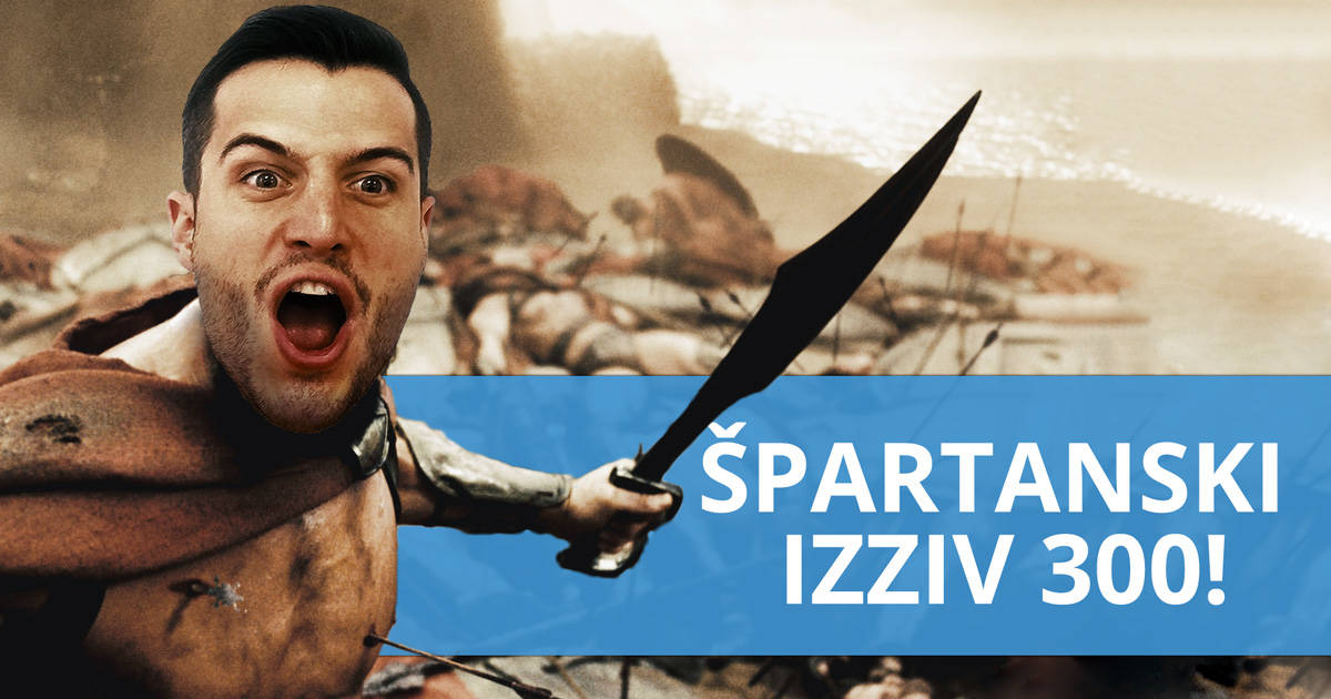 Špartanskih 300: 6 vaj za popolno postavo