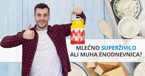 Grški jogurt – muha enodnevnica ali superživilo?