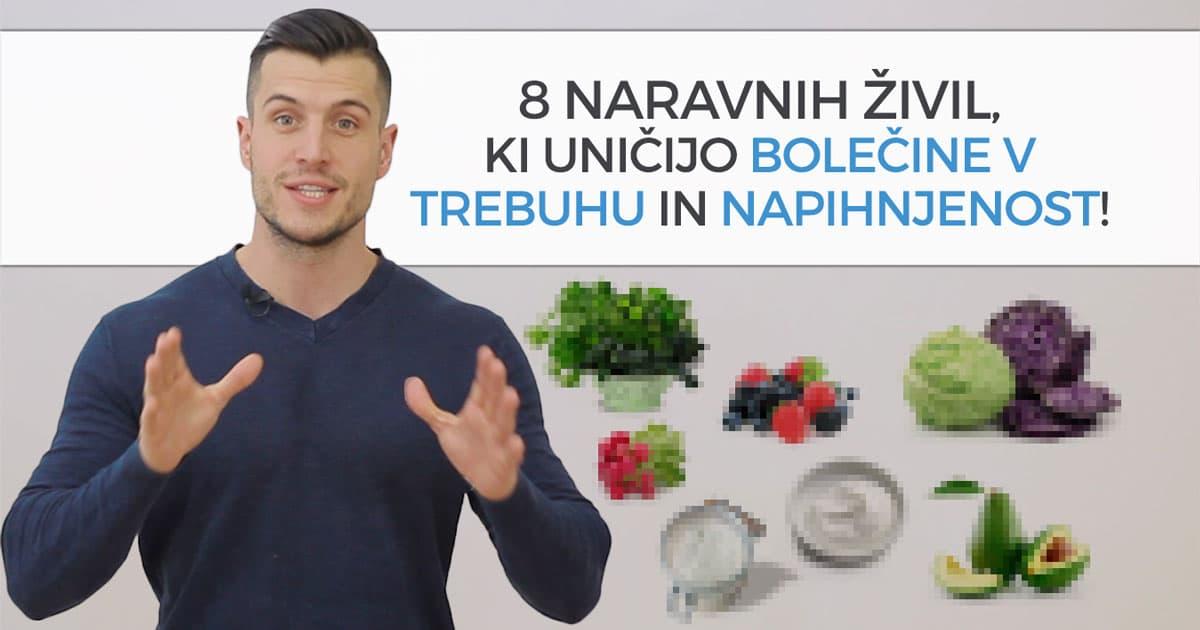 8 naravnih živil, ki uničijo bolečine v trebuhu in napihnjenost