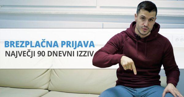 PRIJAVA – Največji 90-dnevni izziv leta 2018
