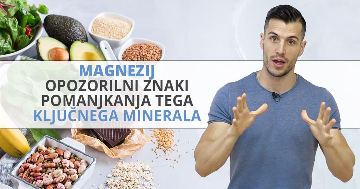 Magnezij – opozorilni znaki pomanjkanja tega ključnega minerala