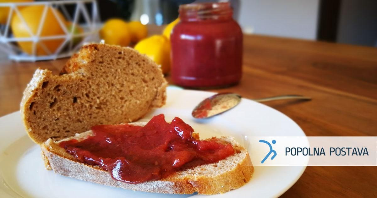 Domača slivova marmelada
