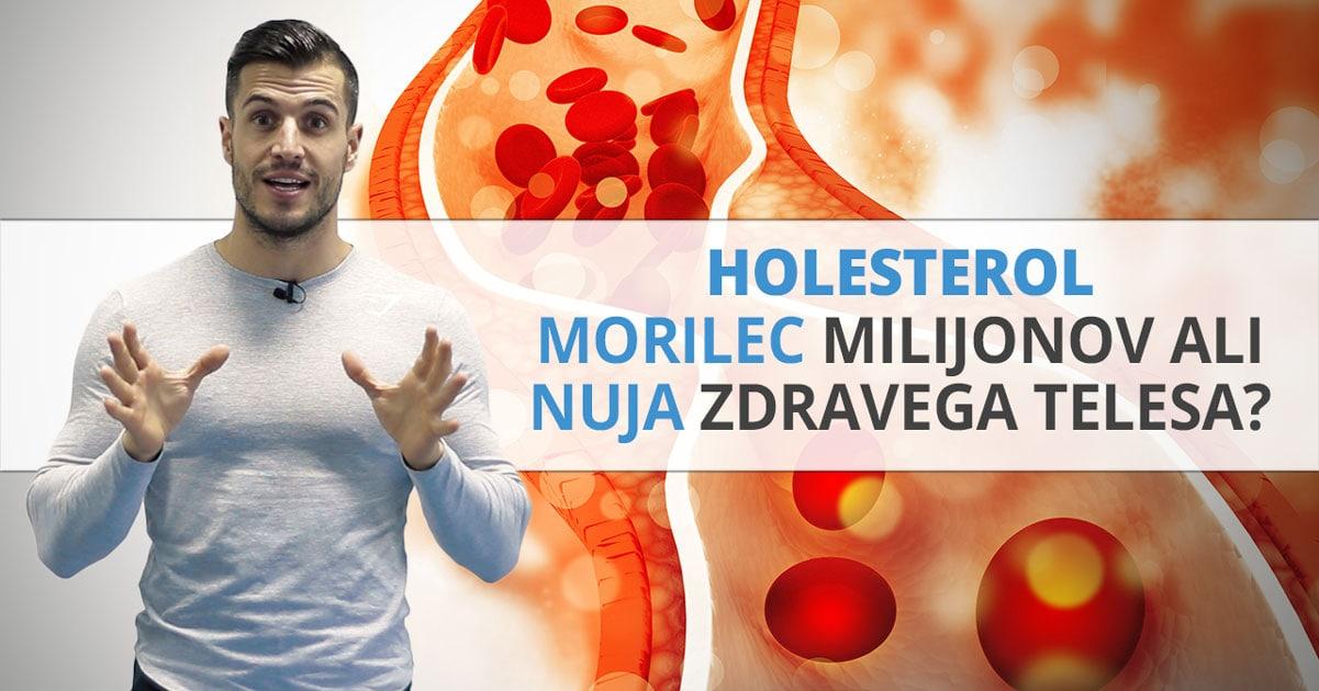 Holesterol – Morilec milijonov ali nuja zdravega telesa?