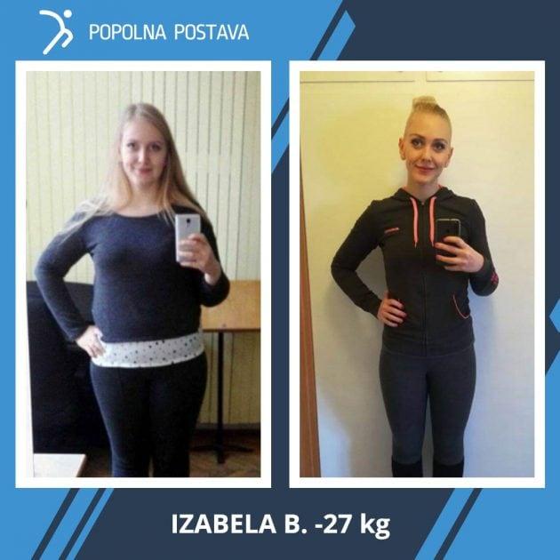 Motivacijsko pismo Izabele po uspešni popolni preobrazbi