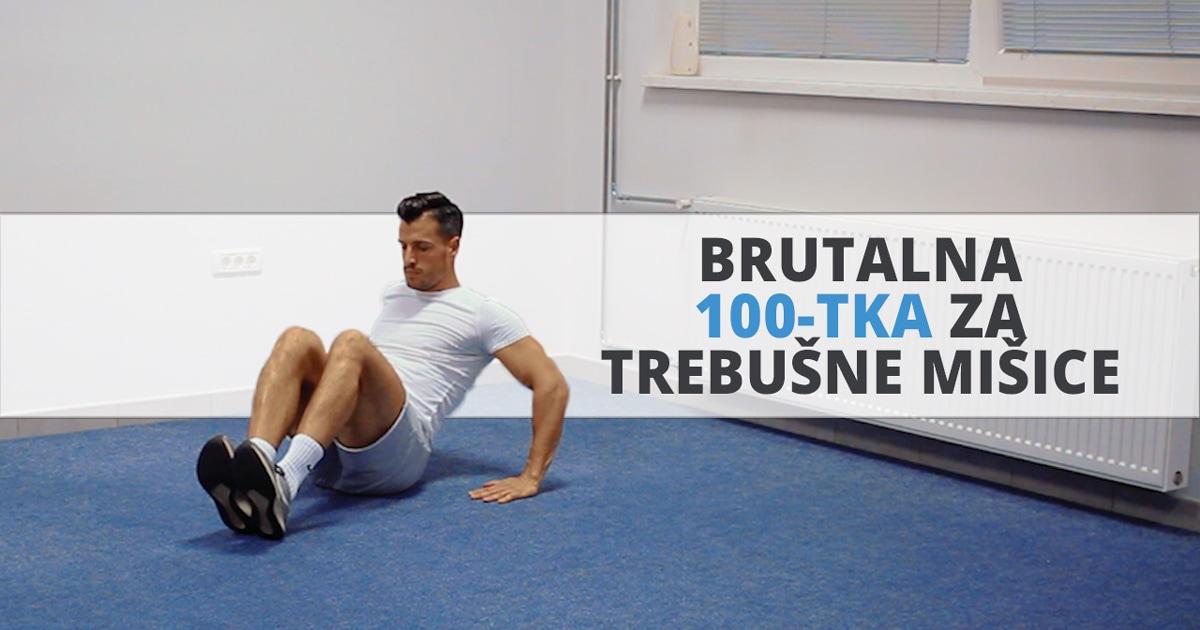 Brutalna 100-ka za trebušne mišice