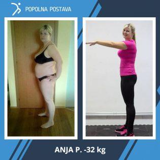 Anja razkriva kako je izgubila -32 kilogramov in se sedaj počuti kot prerojena…