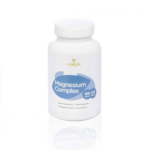 Golden Tree Magnesium Complex + vitamin B6 in vitamin D3
