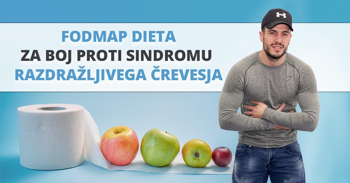 FODMAP dieta za boj proti sindromu razdražljivega črevesja