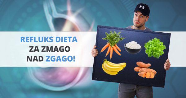 Refluks dieta: kako se prehranjevati, da ne peče zgaga?