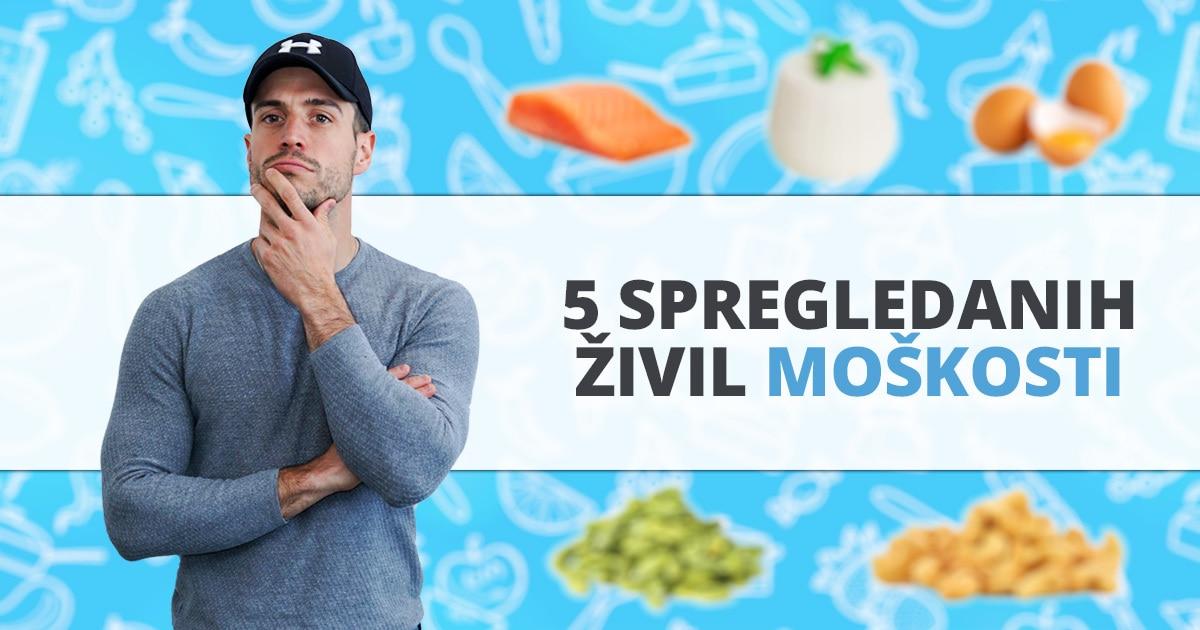 5 spregledanih živil, ki povečajo raven testosterona