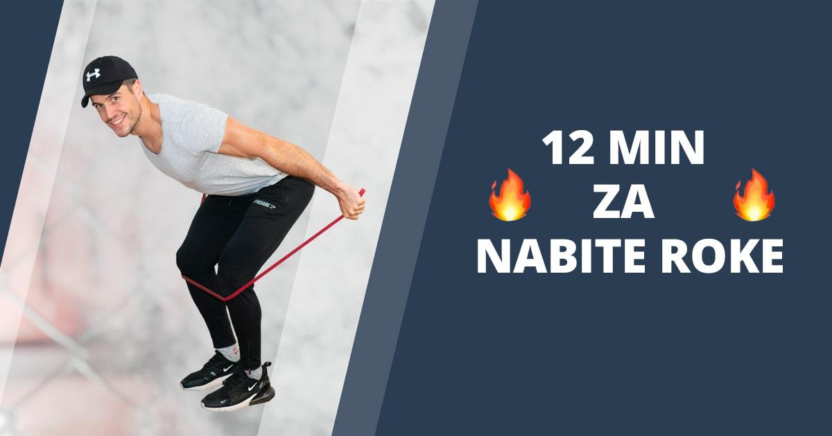 4 najboljše vaje za triceps z elastiko + Vodeni trening