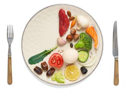 intermittent fasting - krožnik