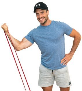 Najboljše vaje za biceps brachii - z elastiko