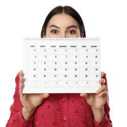 koliko časa traja menstrualni cikel - koledar