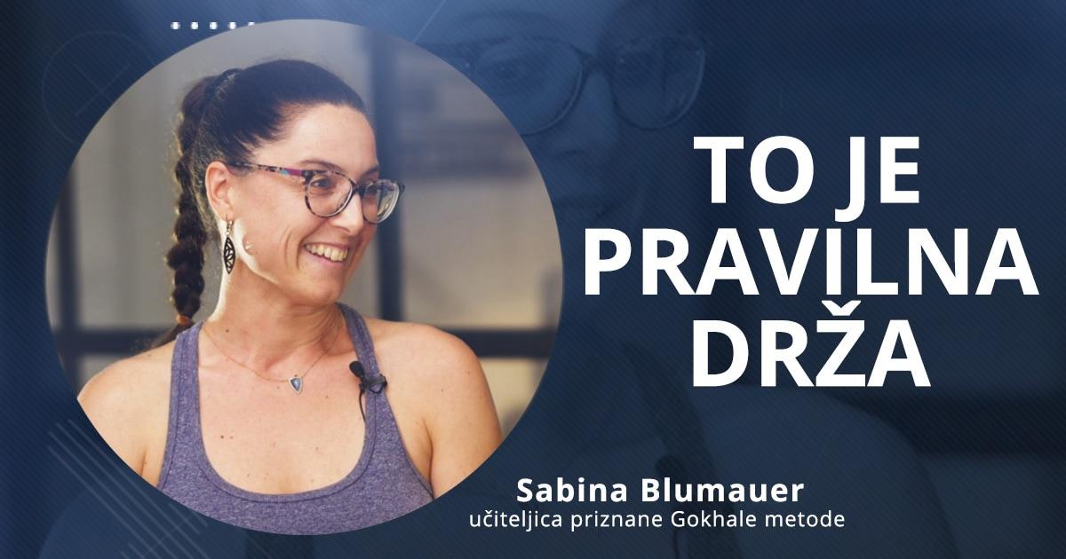 Kako premagaš bolečine v križu, hrbtu in vratu – Sabina Blumauer