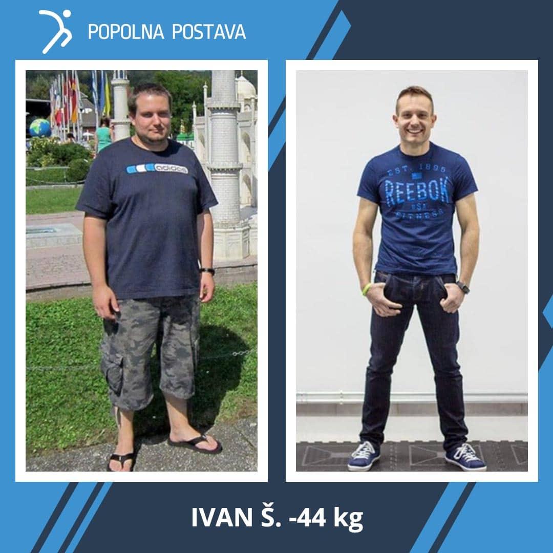 Ivan je nov človek! Popolna preobrazba, popolna postava!