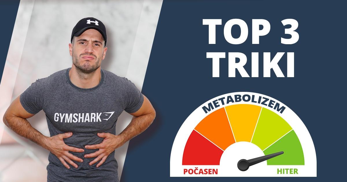 Kako pospešiti metabolizem? 3 triki za hitro preobrazbo