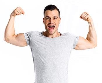 koliko beljakovin dnevno potrebuješ za višji delež mišične mase