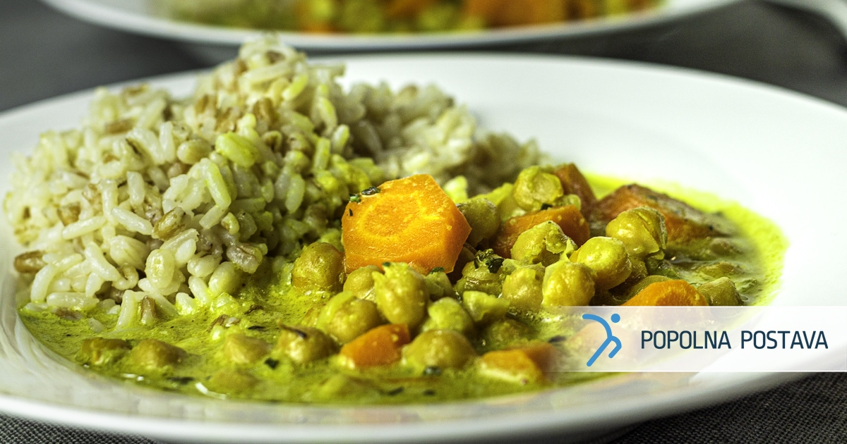 Čičerikin curry v enem loncu