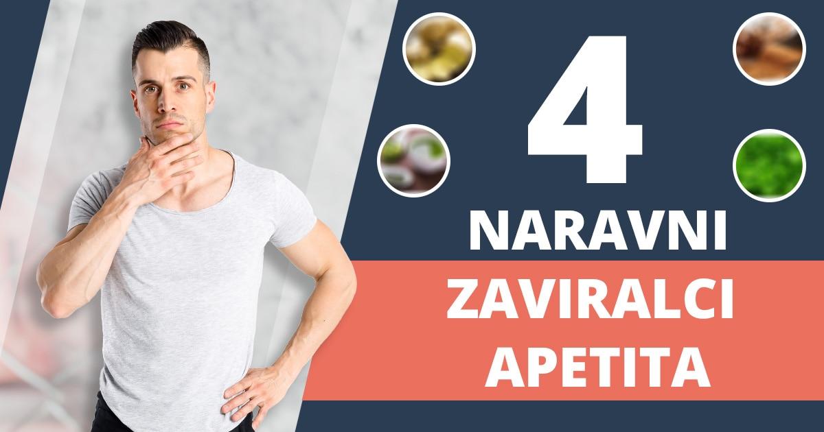 4 naravni zaviralci apetita, ki pospešijo tvojo preobrazbo