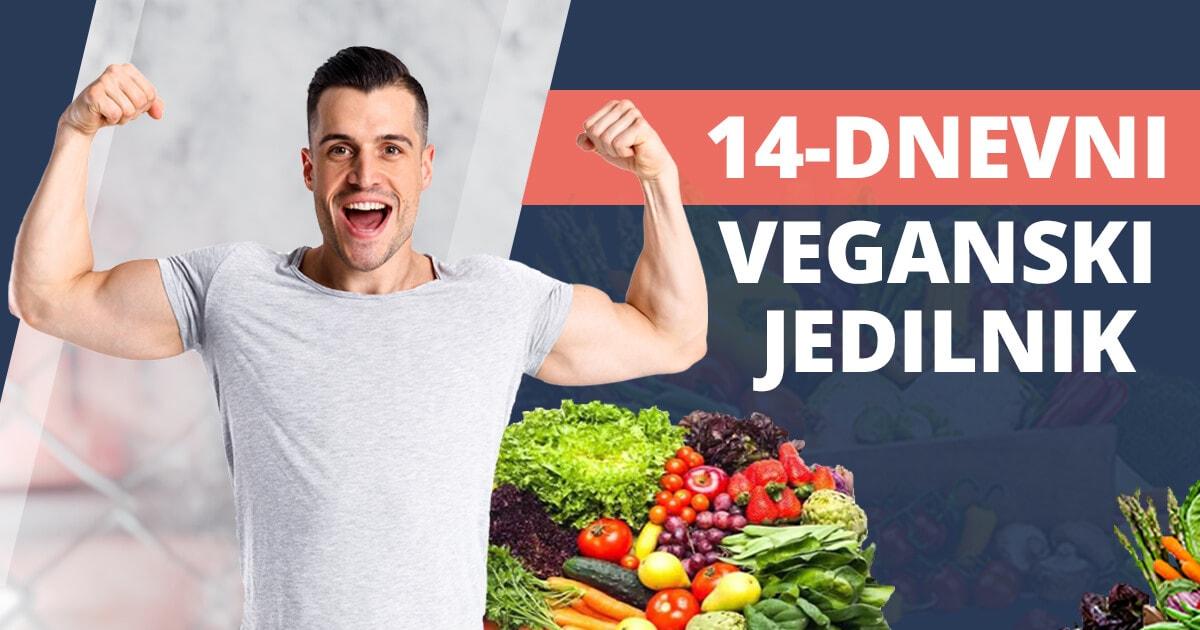 14-dnevni veganski jedilnik + 40 brezplačnih receptov