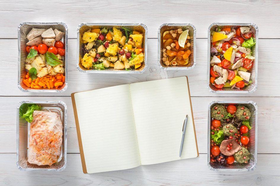 jedilnik - prehranski načrt