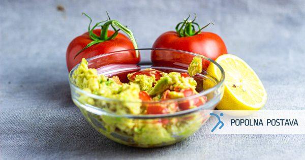 Sveža guacamole omaka