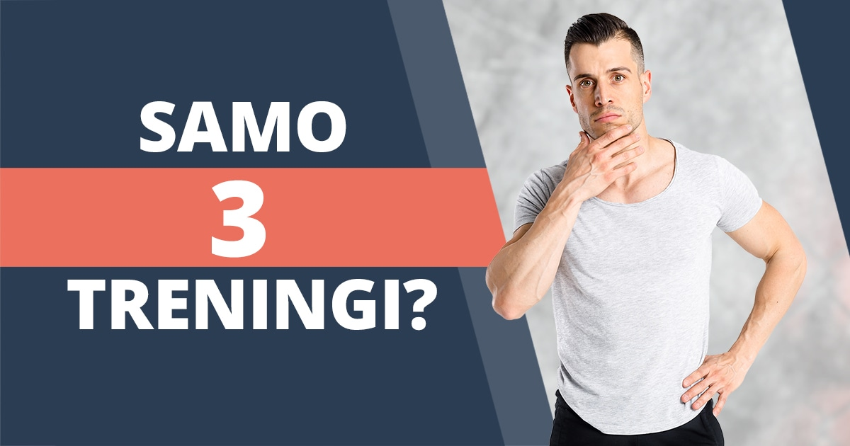 3-dnevni split trening za hiter napredek